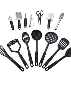 https://ineedaclean.com Non-Stick Kitchen Utensils Set 14 pcs New Arrivals Kitchen Tools Plastic Type: PE  I Need A Clean https://ineedaclean.com/?post_type=product&p=1003046