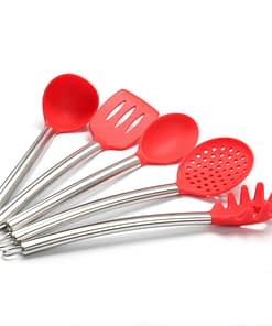 https://ineedaclean.com Useful Heat-Resistant Non-Stick Silicone Kitchen Utensils Set New Arrivals Kitchen Tools Material: Silicone  I Need A Clean https://ineedaclean.com/the-clean-store/useful-heat-resistant-non-stick-silicone-kitchen-utensils-set/