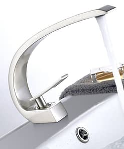 https://ineedaclean.com Elegant Faucet Modern Tap for Bathroom Bathroom Shop Bathroom Faucets cb5feb1b7314637725a2e7: Brushed Nickel|Chrome|Orange|ORB|white  I Need A Clean https://ineedaclean.com/the-clean-store/elegant-faucet-modern-tap-for-bathroom/